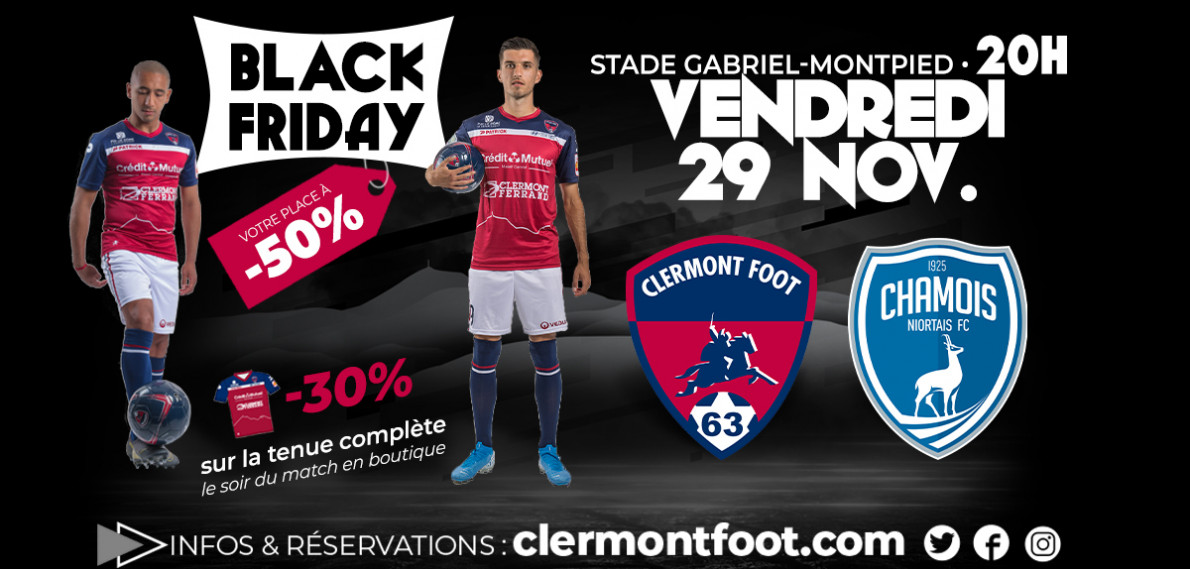 Calendrier Clermont Foot.Clermont Foot 63