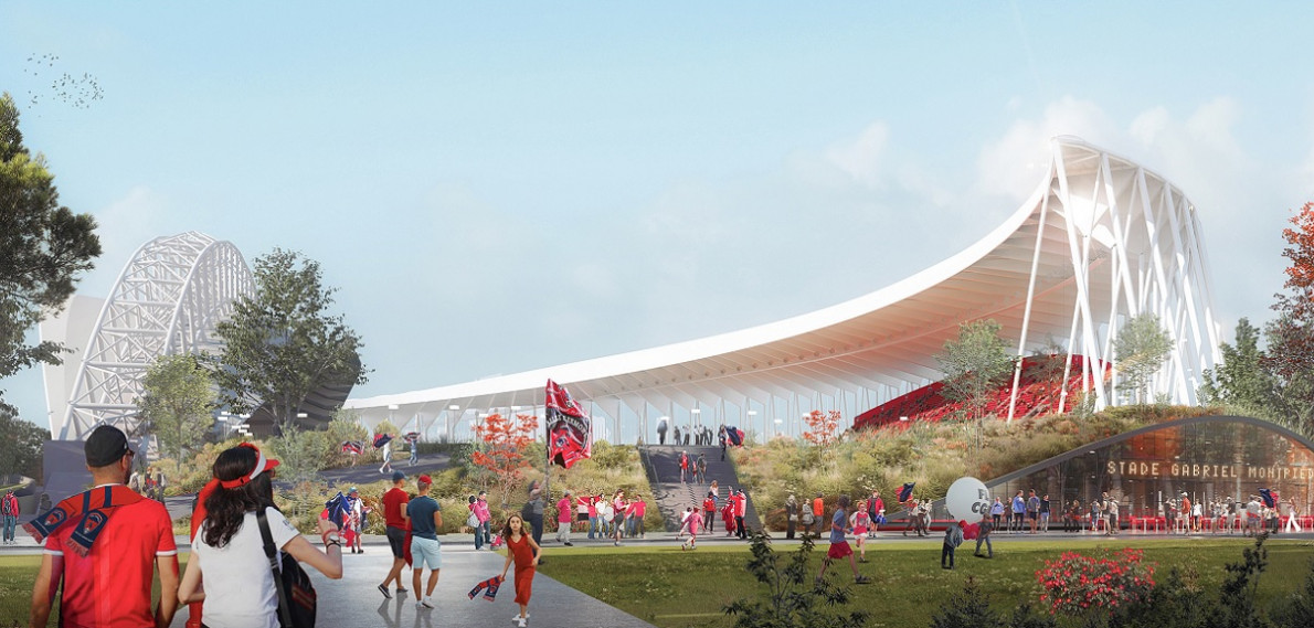 Le projet d'extension du Stade Gabriel-Montpied dévoilé