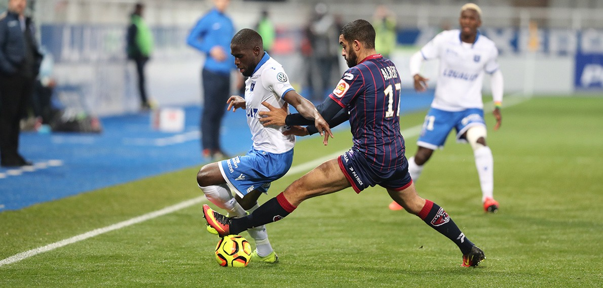 Auxerre - Clermont: 1-0