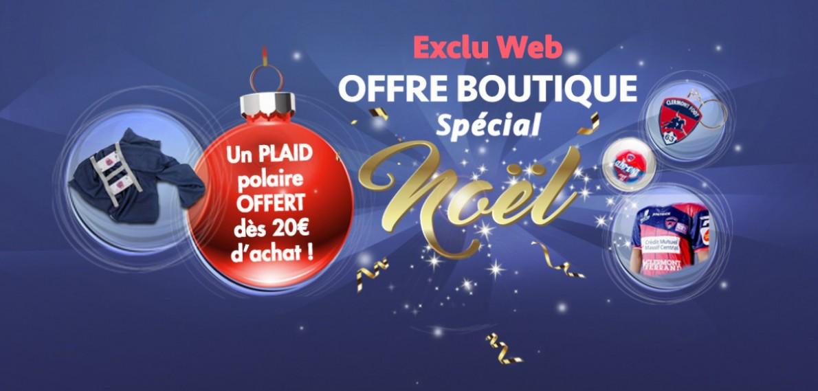 Exclu web spécial Noël: un plaid offert dès 20€ d'achat