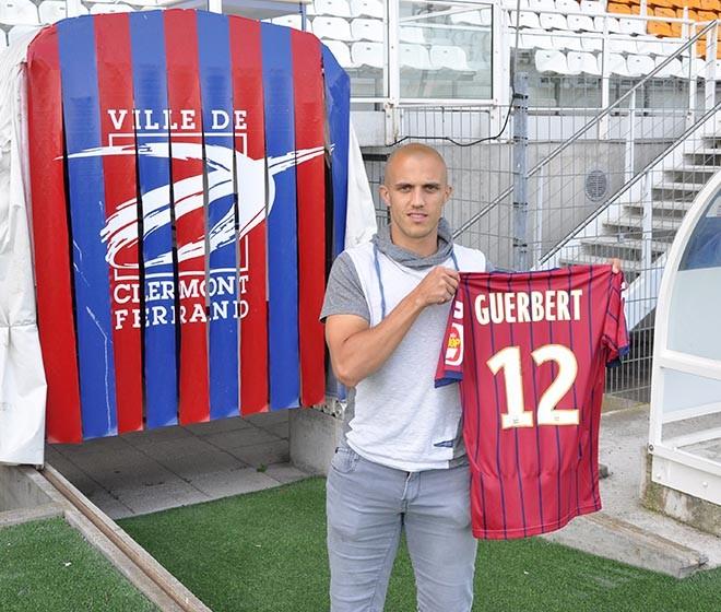 Thomas GUERBERT s'engage avec le Clermont Foot 63