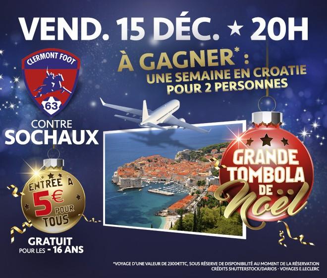 Le Clermont Foot fête Noël face à Sochaux !