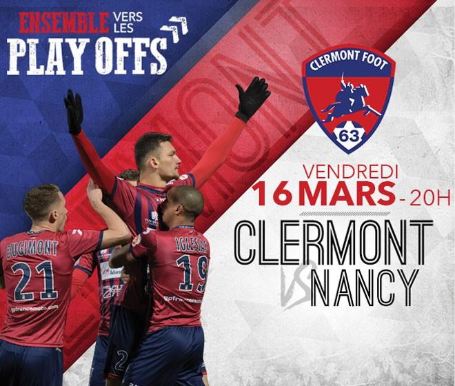 Clermont - Nancy: Infos Billetterie