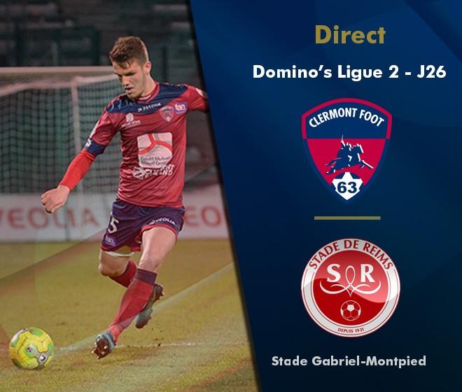 Clermont - Reims (0-1)