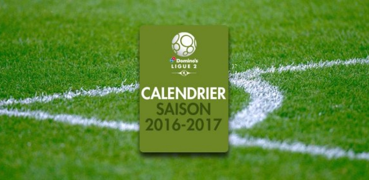 Calendrier Clermont Foot.Le Calendrier 2016 2017 Devoile Clermont Foot 63