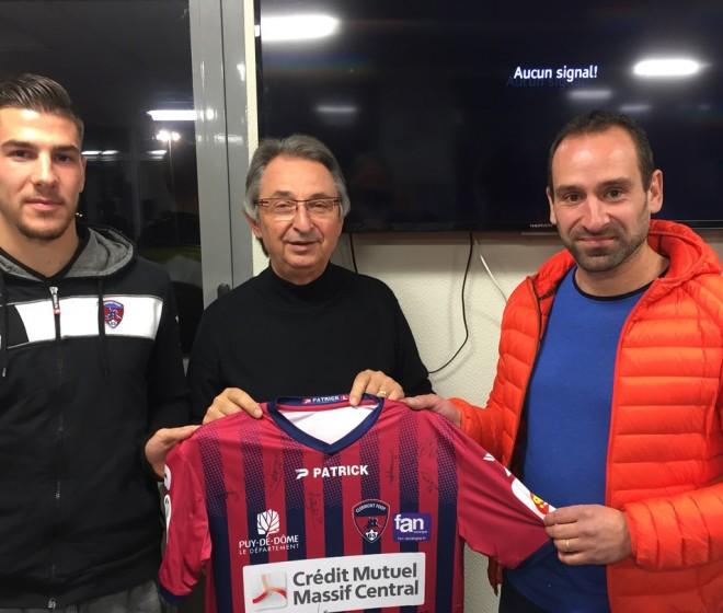 Le Clermont Foot 63 reçu par les Clubs partenaires de Domérat et Commentry