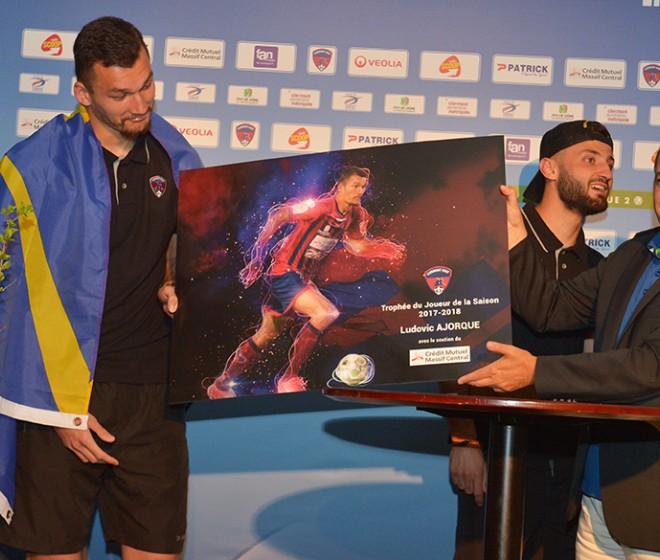 Ludovic Ajorque, élu joueur de l'année !