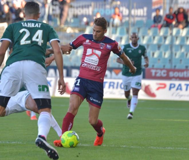 Clermont - AC Ajaccio: le groupe clermontois
