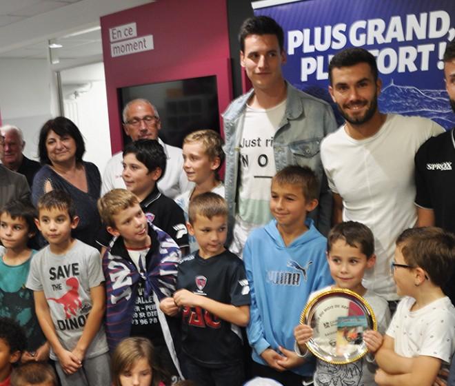 Florent Ogier élu joueur du mois de septembre