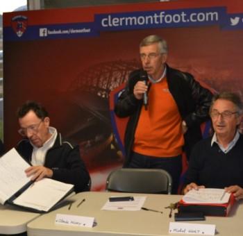 Le Club Entreprises du Clermont Foot 63 en assemblée générale