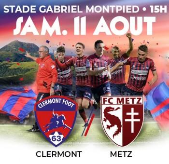 Clermont - Metz: Infos Billetterie