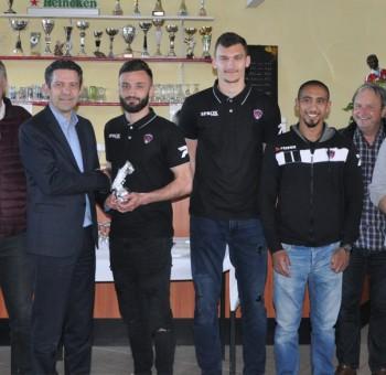 Franck Honorat élu joueur du mois de mars