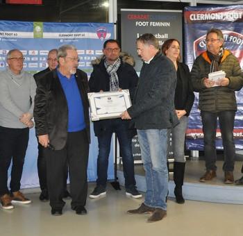 Le Clermont Foot 63 a reçu le Label Jeunes Excellence