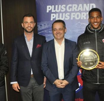 Florian Ayé, élu joueur du mois de février