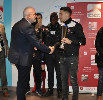 Rémy Dugimont élu joueur du mois de décembre