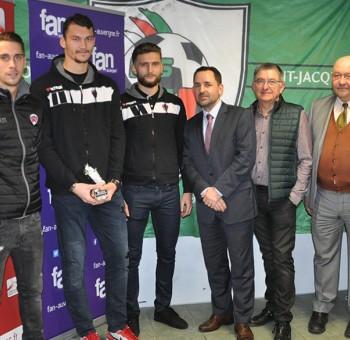 Ludovic Ajorque élu joueur du mois de décembre