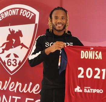Julio Donisa, 12ème recrue du Clermont Foot 63