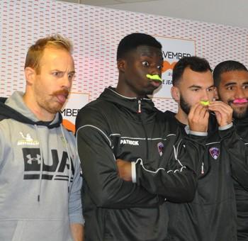 Le Clermont Foot 63 se mobilise pour Movember