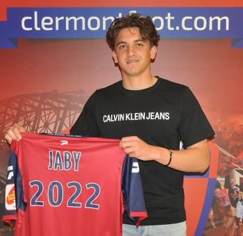 Naël Jaby signe pro au Clermont Foot 63