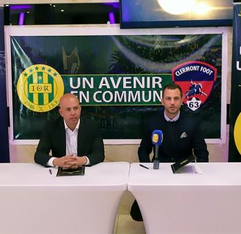 Le Clermont Foot 63 et la JS Kabylie s'associent