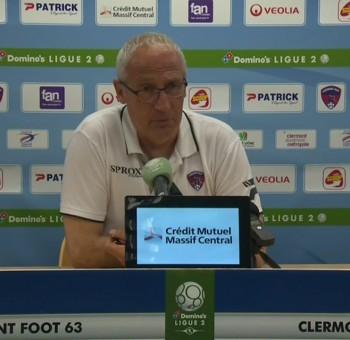 Clermont - AC Ajaccio: réactions des coachs