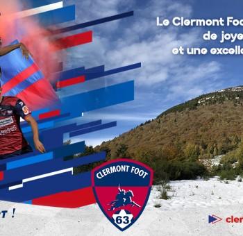 Le Clermont Foot 63 vous souhaite de Joyeuses Fêtes