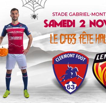 Clermont - Le Mans: venez fêter Halloween au Montpied !