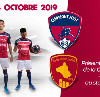 Clermont - Rodez: présentation du Trophée de la Coupe du Monde