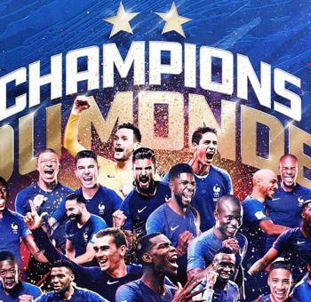 Champions du Monde : Bravo les Bleus !