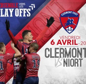 Clermont - Niort: Ensemble vers les Play-Offs !