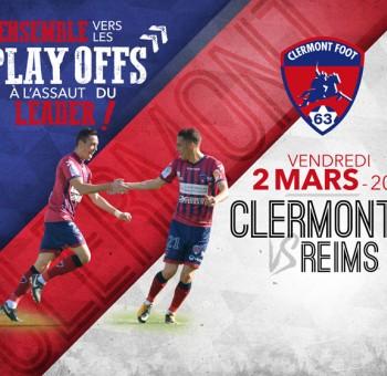 Clermont - Reims : Ensemble vers les Play-Offs !