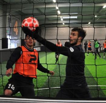 Entrainement à l'Urban Soccer : la séance en images