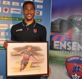 Florian Ayé, élu Joueur de l'année du Clermont Foot 63 !