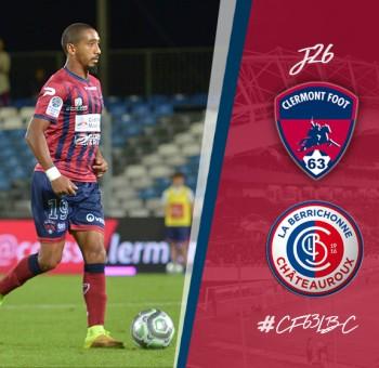 Clermont - Châteauroux : 1-1