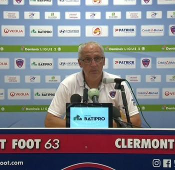 Clermont - Châteauroux: réactions des coachs