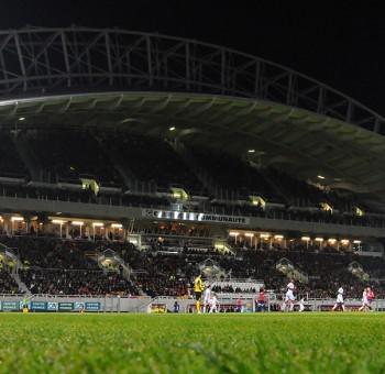 Communiqué - Inversion du sens de captation TV au stade G. Montpied