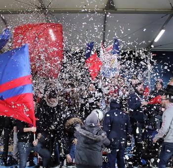 Déplacement des supporters à Sochaux