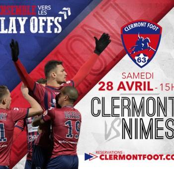 Clermont - Nîmes: Tous au Stade !