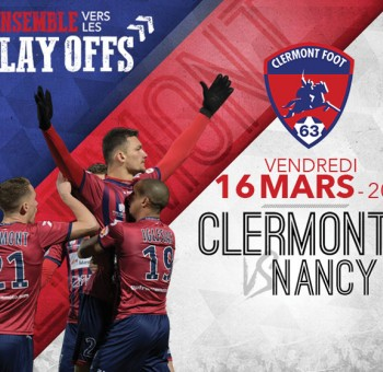 Clermont - Nancy: Infos Billetterie