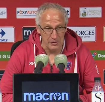 GFC Ajaccio - Clermont: réactions des coachs