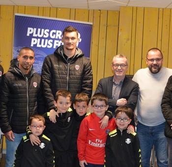 Ludovic Ajorque élu joueur du mois de février