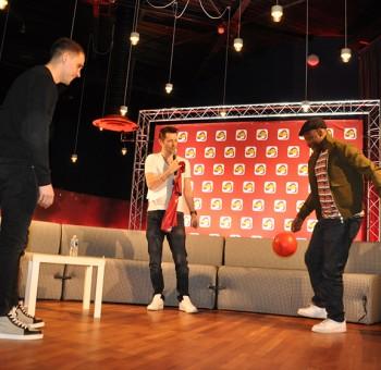 La surprise du Clermont Foot 63 pour MC Solaar avec Radio Scoop