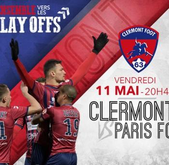 Union sacrée pour porter le Clermont Foot 63 vers les Play-Offs!