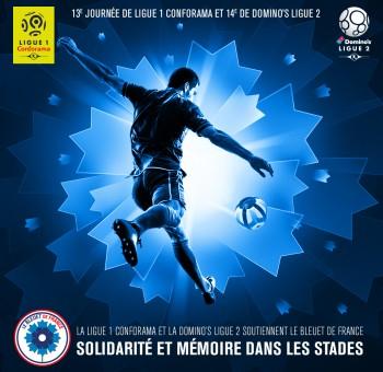 Le football professionnel soutient le Bleuet de France