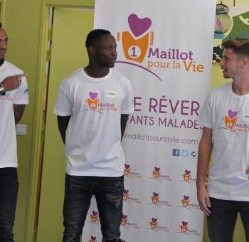 Un Maillot Pour La Vie au CHU Estaing (12-10-17)