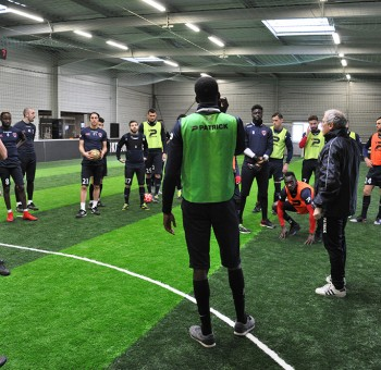 Entrainement à l'Urban Soccer (Mardi 6 février 2018)