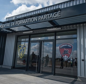 Inauguration du Centre de Formation partagé ASM - Clermont Foot 63
