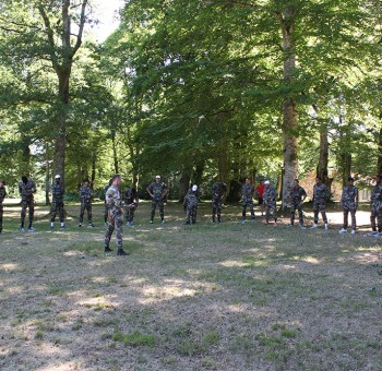 Entrainement avec le 92ème Régiment d'Infanterie