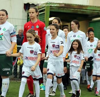 CDF Féminine : Clermont - ASSE (1-6)