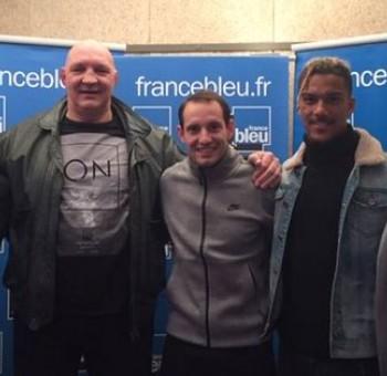 Florian Ayé invité sur France Bleu avec Renaud Lavillenie